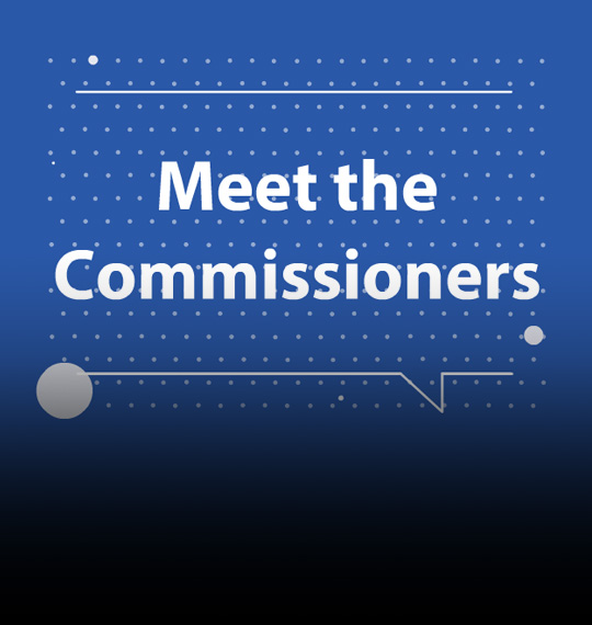 Meet the Commissioners title slide
