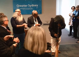 Link: Didgeridoo performance at the Greater Sydney Commission video