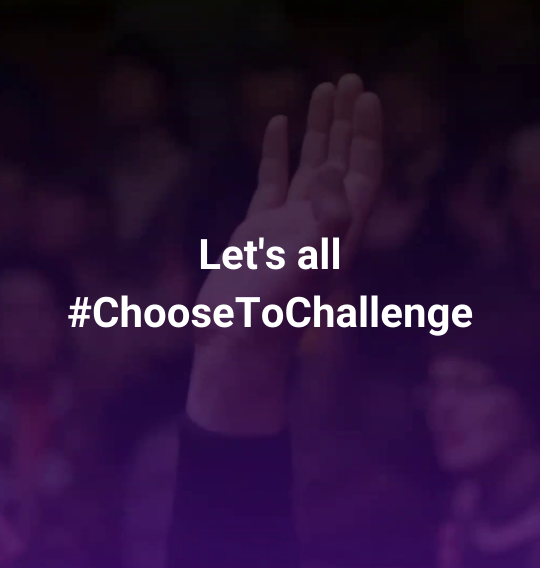 Let's all choose to challenge