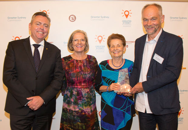 Anthony Roberts, Lucy Turnbull and award winners