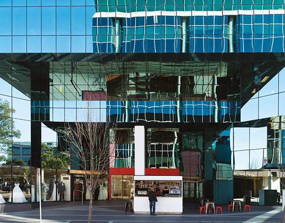 Photograph of building in Blacktown