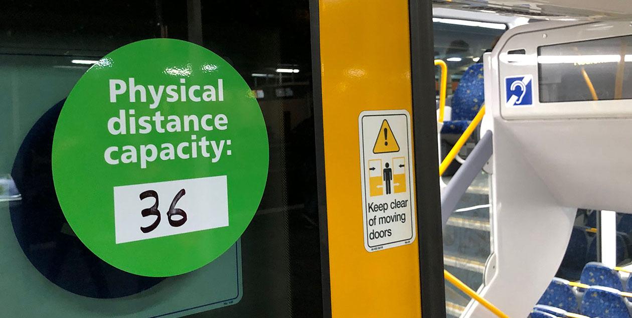 Sydney train signage