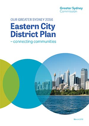 Cover of the Eastern City District Plan