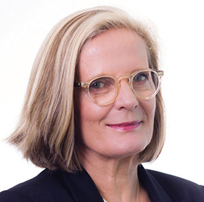 Headshot of Chief Commissioner Lucy Hughes Turnbull AO