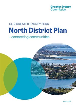 Cover of the North District Plan