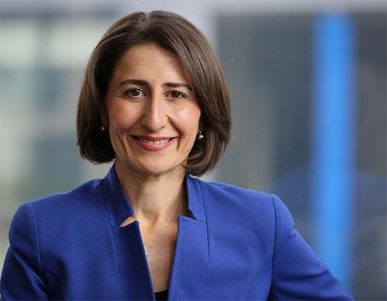 Headshot of Premier Gladys Berejiklian
