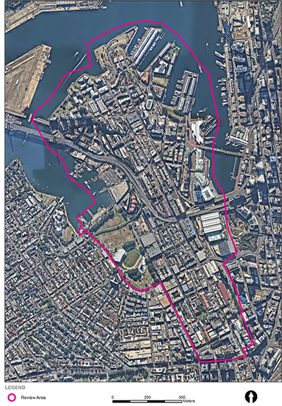 Pyrmont boundary map