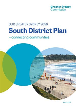 Cover of South District Plan