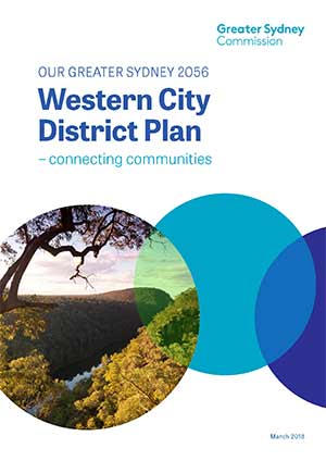 Cover of the Western City District Plan