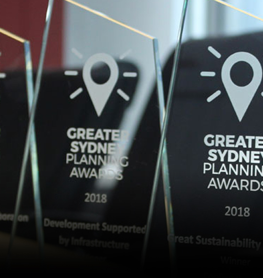 2019 Greater Sydney Planning Awards now open